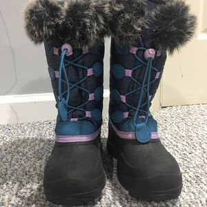 Girls Snow Boots Like New